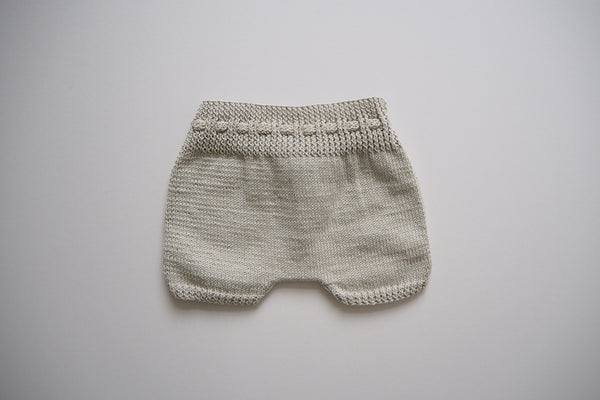 Shorts - Sand - 0/6m to 2/3y - 100% cotton - 50%off