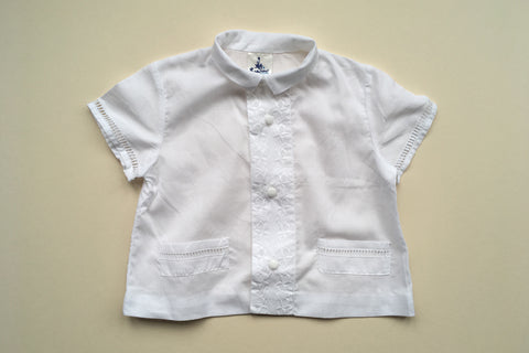 Light white shirt - 12m