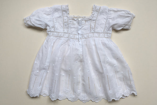 Short dress with lace - 12m