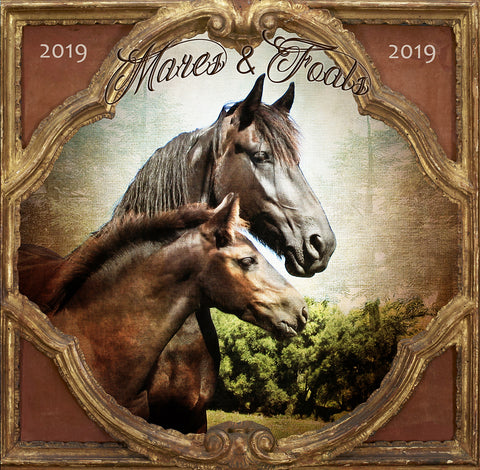 They're Here, They're Here!    2019 Art Calendars Are Now Available At Flying Horse Designs