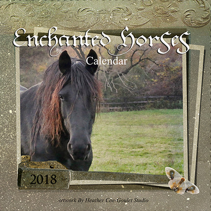 New Calendar Release for 2018, Enchanted Horses,