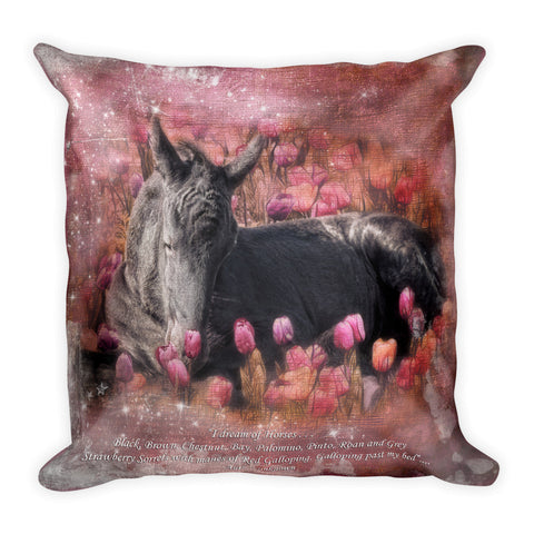 Fantasia 2 Square Pillow