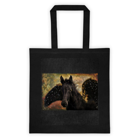 Flying Horse Tote Bag