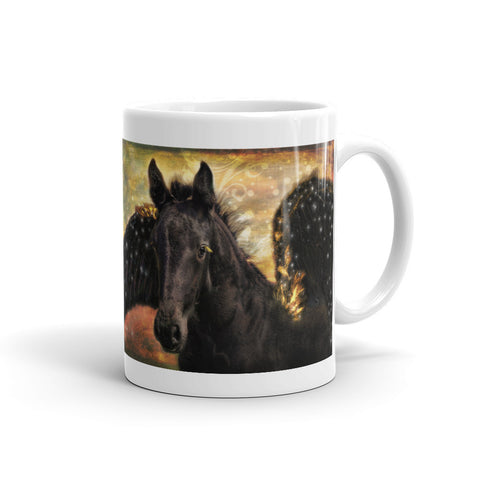 Flying Horse Tea or Coffee Mug