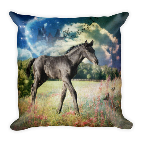Moon Dancer 1 Square Pillow