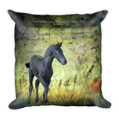 Harmony 4 Square Pillow