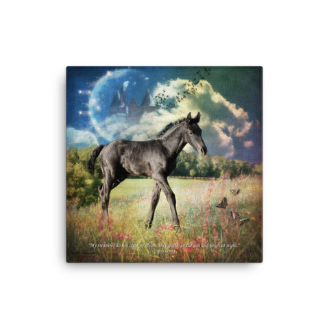 Moon Dancer 1  Art Canvas