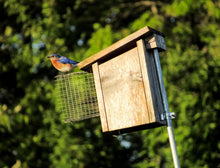 Load image into Gallery viewer, Wire Entrance Predator Guard for Bird House