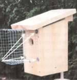 Wire Entrance Predator Guard for Bird House
