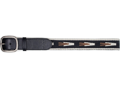 "Course Belt - Black/Natural | Ceinture ""Course"" - Noir/Naturel - Almasty Outdoor Co."