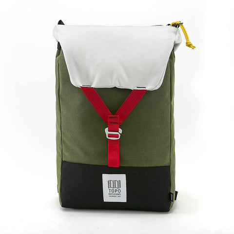 Topo Designs - Y-pack Bag - Olive | Sac Y-pack - Olive | Almasty Outdoor Co.