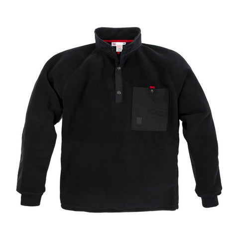 Men's Mountain Fleece - Black | Polar pour homme - Bourgogne - Almasty Outdoor Co.