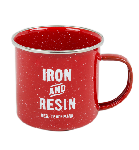 Camp Mug - Red | Tasse de camping - Rouge - Almasty Outdoor Co.