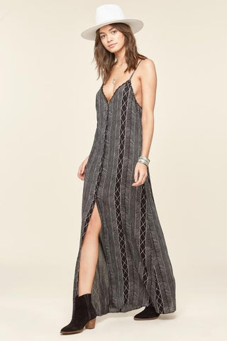 Amuse Society - Wild Belle Dress - Black Sand | Almasty Outdoor Co.