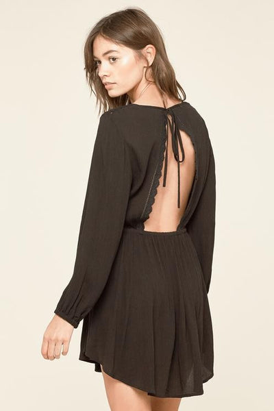 Amuse Society - Portia Dress - Black | Almasty Outdoor Co.