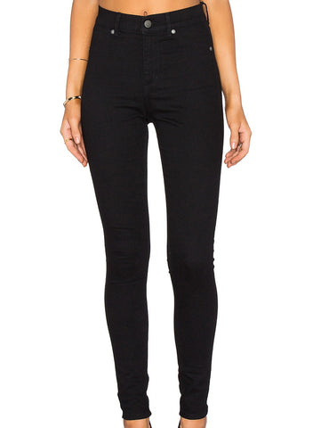 Cheap Monday Women's Pant High Spray  - Black  | Almasty Outdoor Co.