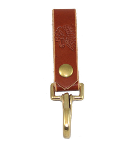 "Chief Fob LG Keychain - Chestnut | Porte-clés ""Chief Fob LG"" -  Châtaigne - Almasty Outdoor Co."