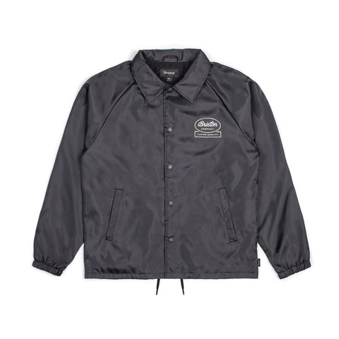 "Brixton - Men's Dale Jacket - Black | Manteau pour hommes ""Dale"" - Noir 