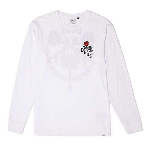 Deus - Men's Scorpio L/S Tee - White | Almasty Outdoor Co.
