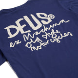 Deus - Men's Old Style MC Tee - Navy | Almasty Outdoor Co.