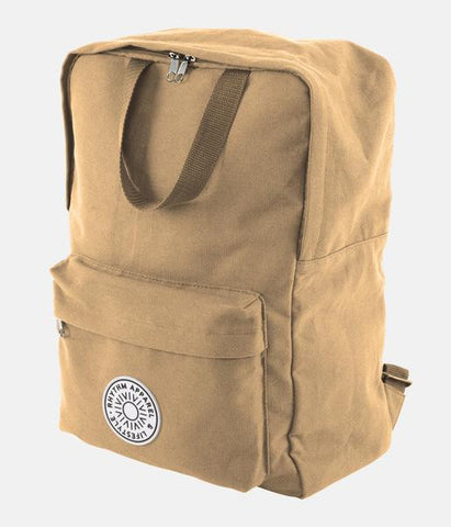 Day Pack Bag - Canvas | Sac Day Pack - Beige - Almasty Outdoor Co.