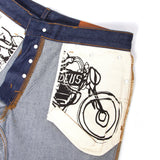 "Knox Straight Men's Jeans - Raw Indigo | Jeans pour hommes ""Knox Straight"" - Raw indigo - Almasty Outdoor Co."