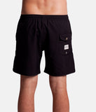 "Rhythm - The Black Beach Short Swimwear  - Black | Maillot de bain pour hommes ""The Black Beach"" - Noir 