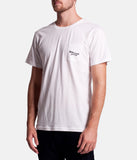 Rhythm Rolling Men's T-Shirt - White | Almasty Outdoor Co.