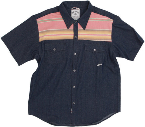 Men's Tehachapi Shirt - Navy - Almasty Outdoor Co.