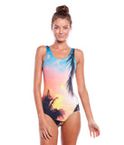"Rhythm - Islander One Piece Sunset Women's Swimwear - Multi | Maillot de bain une pièce ""Islander"" - Multi 