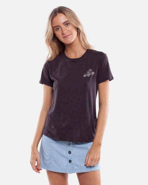 "Rhythm - Island Women's T-Shirt - Black | T-shirts pour femmes ""Island"" - Noir 
