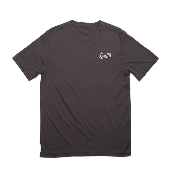 Brixton - Kestrel S/S Standard Tee - Washed Black | Almasty Outdoor Co.