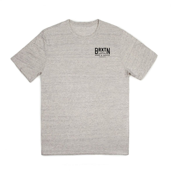 Brixton - Langley S/S Premium Tee - Heather Stone | Almasty Outdoor Co.