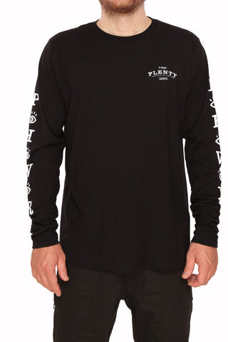 Plenty - Iba L/S Tee - Black | Almasty Outdoor Co.