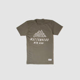 Mountain High T-Shirt - Army | T-shirt Mountain High - Kaki - Almasty Outdoor Co.
