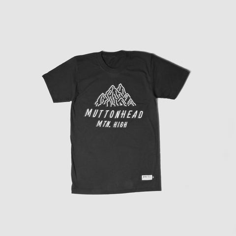 Mountain High T-Shirt - Black | T-shirt Mountain High - Noir - Almasty Outdoor Co.