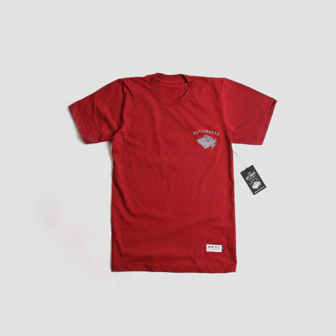 Stray Mutt T-Shirt - Maroon | T-shirt pour Stray Mutt - Maron - Almasty Outdoor Co.