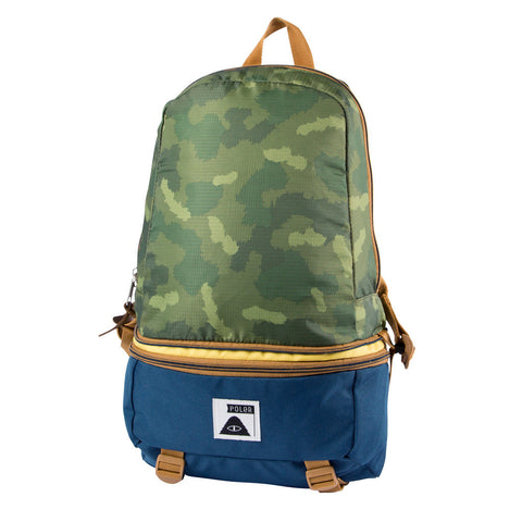 Poler Stuff - Tourist Pack Bag - Green Camo | Sac Tourist Pack - Camouflage vert | Almasty Outdoor Co.