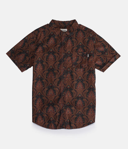 Rhythm - Slow Jam S/S Shirt - Henna | Almasty Outdoor Co.