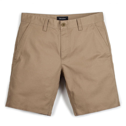 "Brixton - Men's Toil II Short - Khaki | Short pour hommes ""Toil II"" - Khaki 