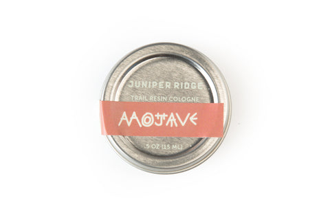 Mojave Trail Resin Cologne | Cologne en résine Mojave Trail - Almasty Outdoor Co.
