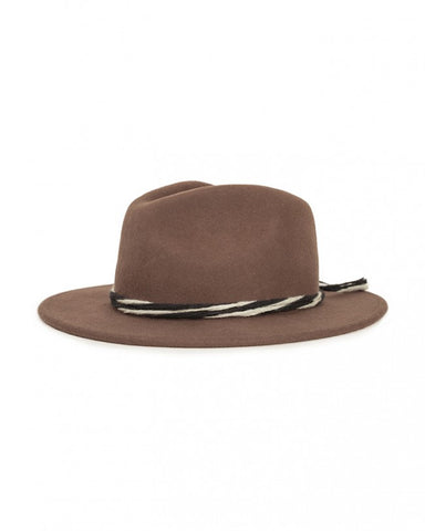 "Corbet Fedora Hat - Brown | Chapeau ""Corbet"" Fedora - Brun - Almasty Outdoor Co."