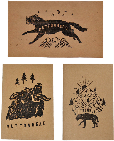 Muttonhead - Backwoods Books - 3 Pack | Cahiers de notes Backwoods - Paquet de 3 | Almasty Outdoor Co.