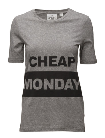 Cheap Monday Break Tee - Grey Melange | Almasty Outdoor Co.
