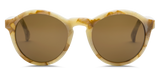 "Reprise Unisex Sunglasses - White Marble/OHM Bronze | Lunettes unisexe ""Reprise"" - OHM Bronze/Marble Blanc - Almasty Outdoor Co."