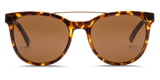 "Bengal Wire Unisex Sunglasses -  Glossed Tortoise/OHM Bronze | Lunettes unisexe ""Bengal Wire"" - OHM Bronze /Tortoise - Almasty Outdoor Co."