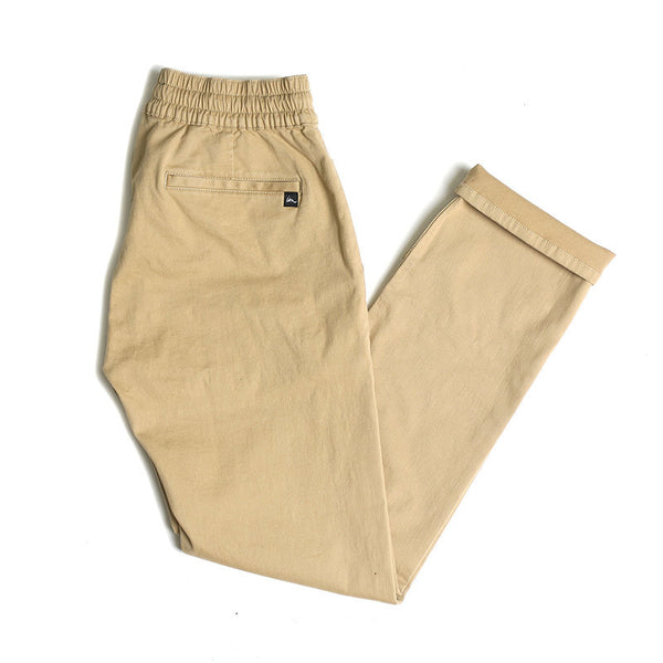 "Chapter Men's Chino/Jogger - Khaki | Chino/Jogger pour hommes ""Chapter"" - Beige - Almasty Outdoor Co."