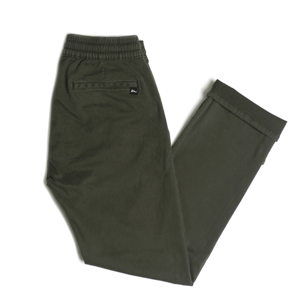 "Chapter Men's Chino/Jogger - Olive | Chino/Jogger pour hommes ""Chapter"" - Olive - Almasty Outdoor Co."
