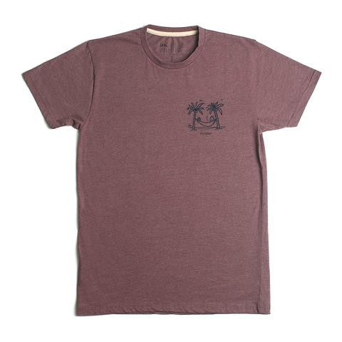 "Imperial Motion - Chill Seeker Men's T-Shirt - Burgundy Heather | T-shirt pour hommes  ""Chill Seeker""- Bourgogne 