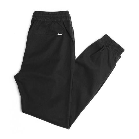 "Denny Men's Jogger - Black | Jogger pour hommes ""Denny"" - Noir - Almasty Outdoor Co."